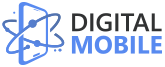 digital mobile logo